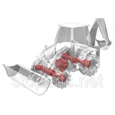 132390  Рулевая тяга CARRARO; CARRARO - CAR 132390 ASSEMBLY TIE ROD