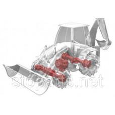 350440  Шарнир (см. 048493, входит в состав 130168) CARRARO;CARRARO - CAR 350440 AXIAL JOINT