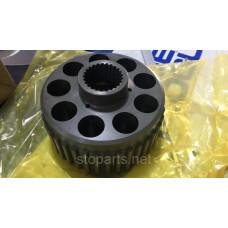 Цилиндрический блокoe noMAG170VP для гидромотора ходаMSF170VP-7 KYB