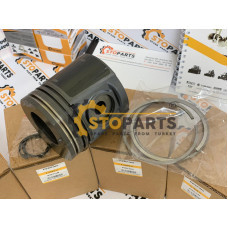 QUALITY PERKINS PISTON RINGS SET PART NUMBER 4115P017 MADE IN TURKEY